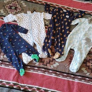 Lot of little boys pajamas